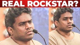"""The Real Rockstar?...."" Yuvan Shankar Raja opens up at Sindhubaadh Audio Launch"