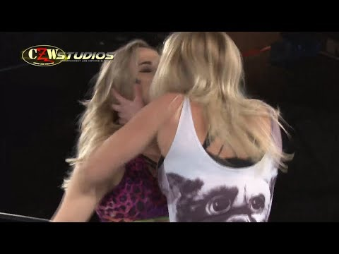 CZW  Joey Janela & Penelope Ford vs. Joey Ryan & Laura James