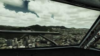 Kai tak landing 727...(fsx)..almost real..