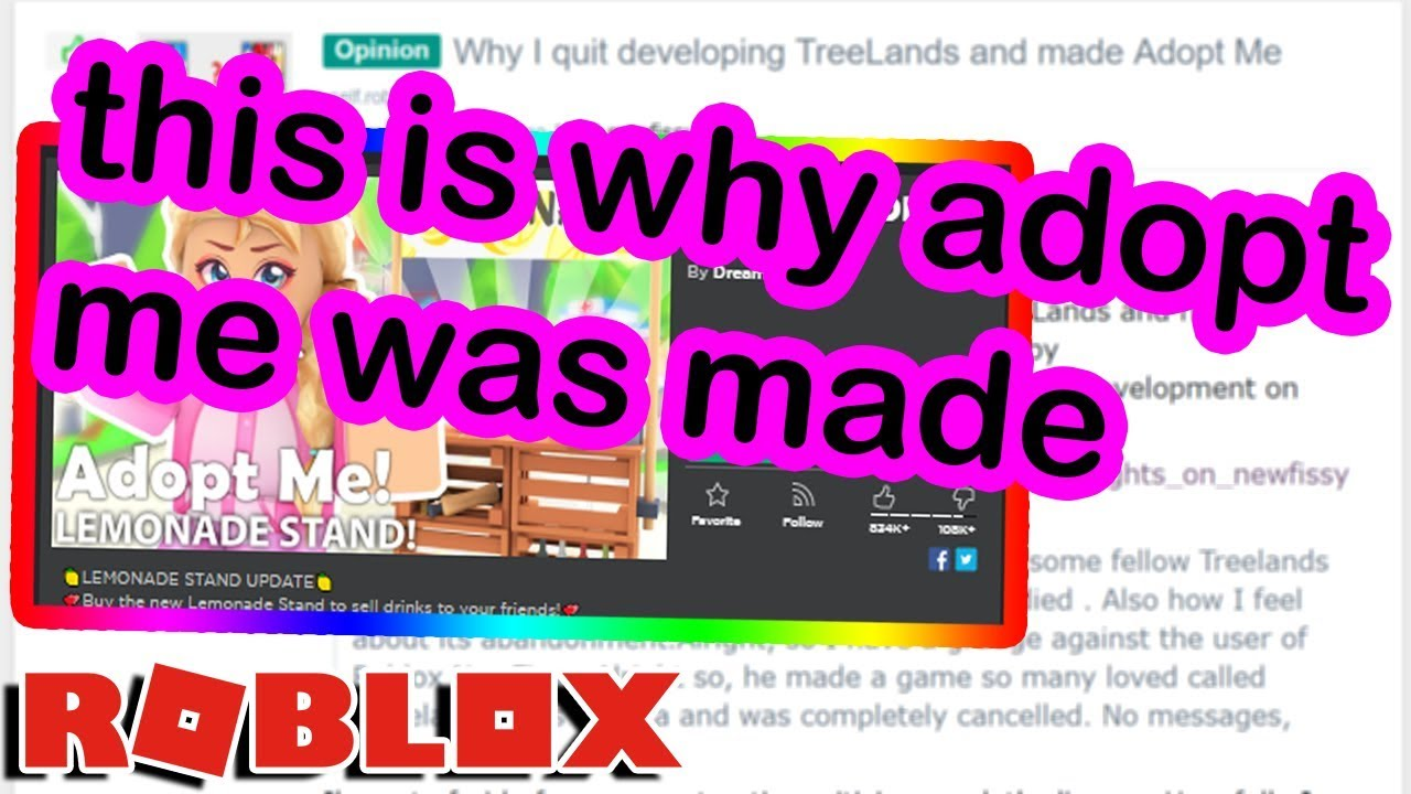 The Sad Truth Behind Adopt Me On Roblox Youtube