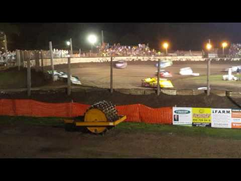 Part 1 Fairbury American Legion Speedway  June 25 2016 Summer Nationals late models