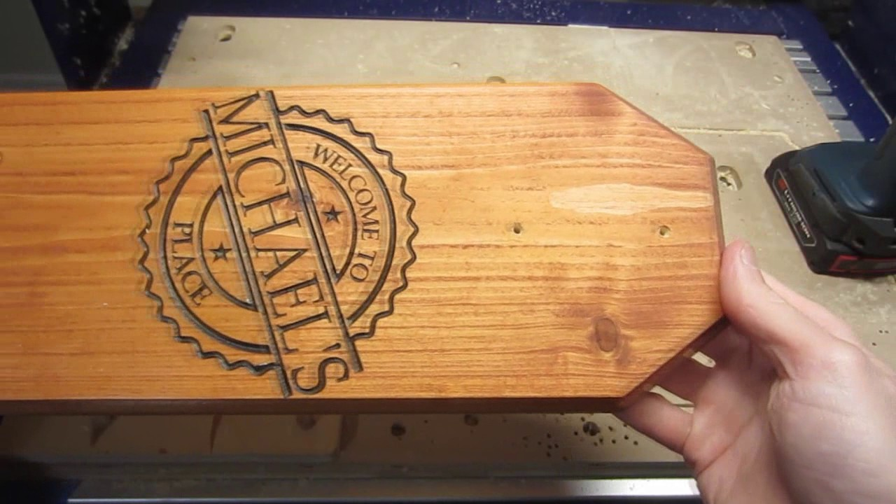 CNC Router Projects- Start to Finish: Using a Keyhole Bit ...