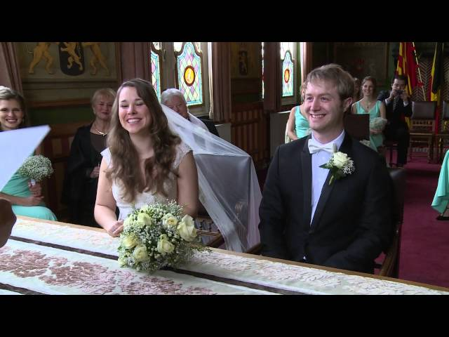 Part 8. Wedding movie Maxime and Alexander Ja woord gemeentehuis