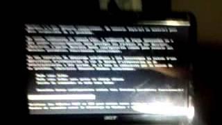 Probleme de demarage # ordinateur portable acer