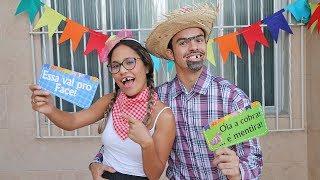 COISAS QUE SEMPRE ACONTECEM NA FESTA JUNINA! - KIDS FUN