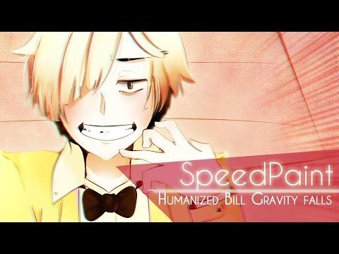 Humanized Bill Cipher / Gravity Falls 【SpeedPaint】