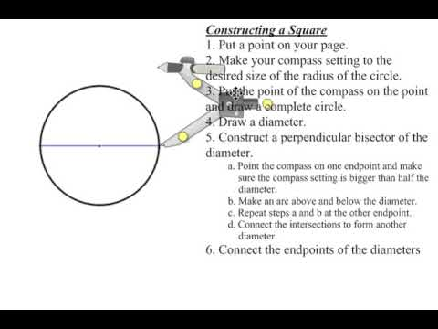 How To Draw Circle Using Compass