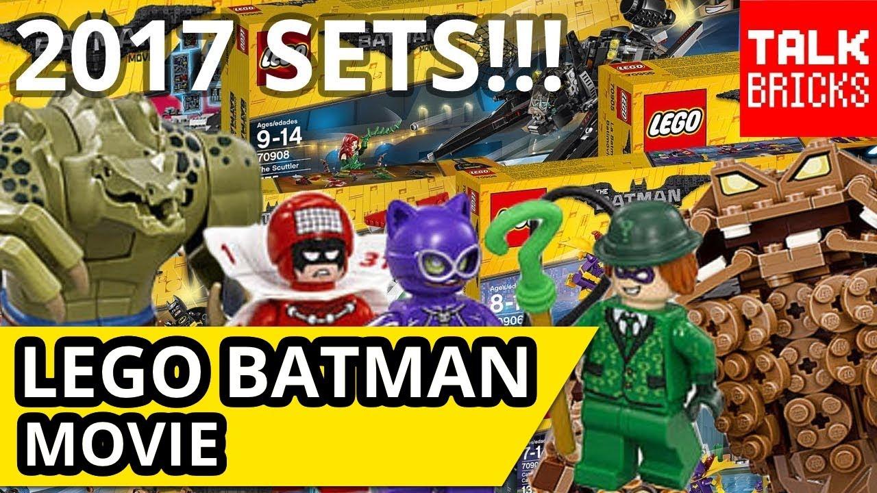 LEGO Batman Movie Winter 2017 Sets Revealed! Catwoman ...