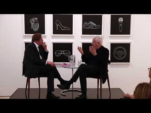 Michael Craig Martin in conversation with Michael Bracewell
