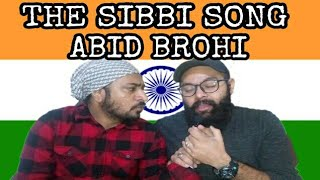 Indian Reaction on The Sibbi Song | Some What Super ft Abid Brohi | Vicky | Gurveer
