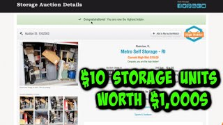 How to make money buying Abandoned Storage Units to sell on Ebay & Amazon in 2020.