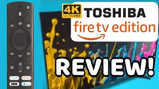 """Toshiba Fire TV Edition 50"""" 4k TV Review 