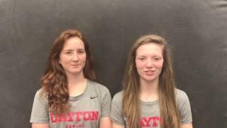 Hannah Butler and Patricia Santoni - 2017 A-10 Preview
