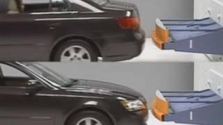 Bumper tests of midsize sedans