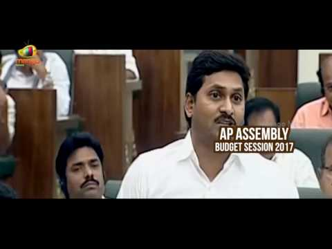 YS Jagan Loses Cool Over Polavaram Irrigation Project | AP Assembly Budget Session 2017 | Mango News