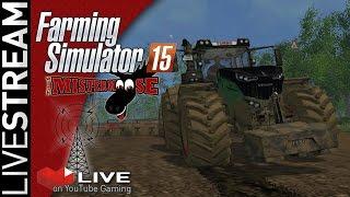 Farming Simulator 15 LiveStream 4/8 - Lots of Harvesting