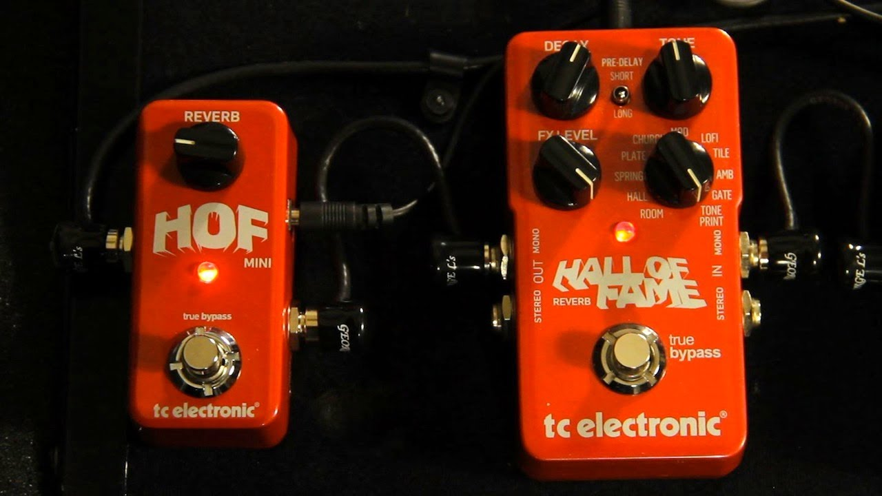 Tc Electronic Hall Of Fame Mini Reverb Demo The Hof Tone