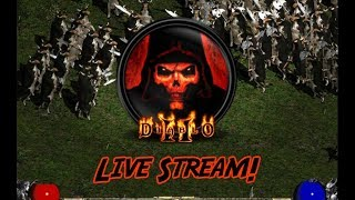 Diablo 2 Live Stream Necromancer #4