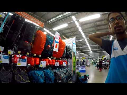Decathlon Store Experience | Product Review | Trekking,hiking,football,cricket,gym All Sports PART 2