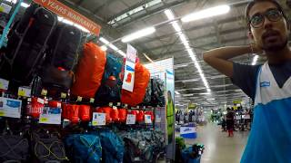 Decathlon Store Experience   Product Review   trekking,hiking,football,cricket,gym all sports PART 2