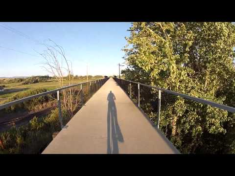 Iron Horse Trail, Bicycle Ride from Cle Elum to Ellensburg, WA