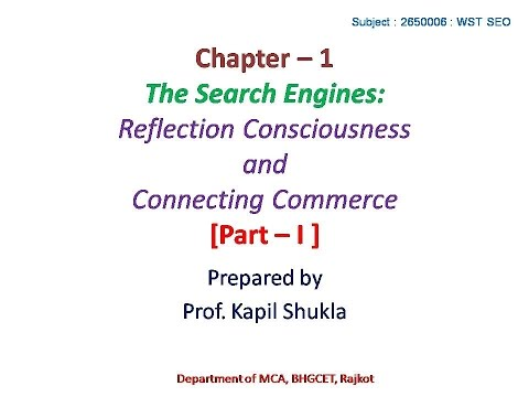 SEO Course Lecture Note