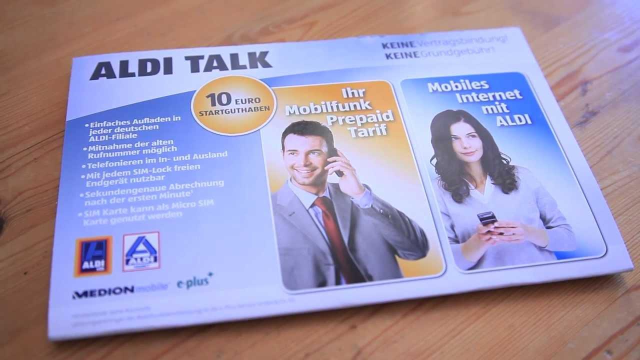 aldi talk karte gesperrt Aldi SIM Karte deaktiviert!? Wieder aktivieren oder neu?   YouTube