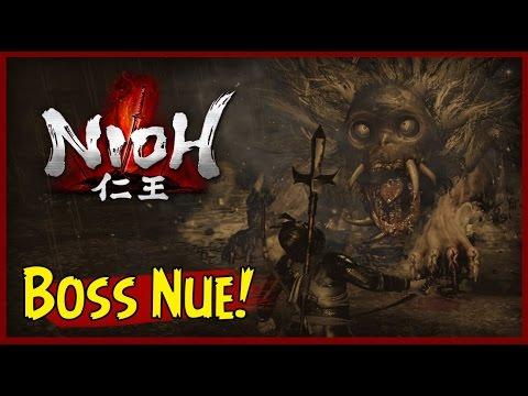 NIOH: Segundo Boss Nue!! Final da Demo =[