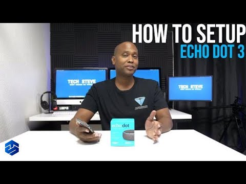 How To Setup the 3rd Gen Echo Dot plus Alexa App Tour