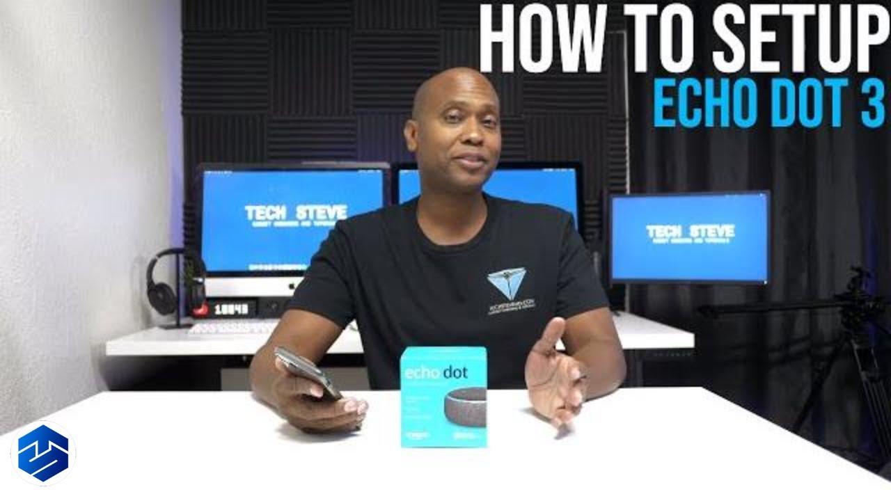How To Setup the 3rd Gen Echo Dot plus Alexa App Tour