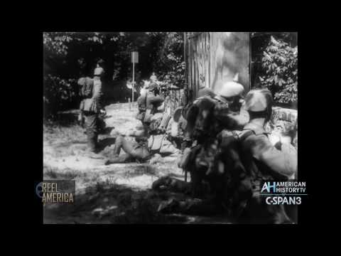 On the Firing Line with the Germans - 1915 Film Preview