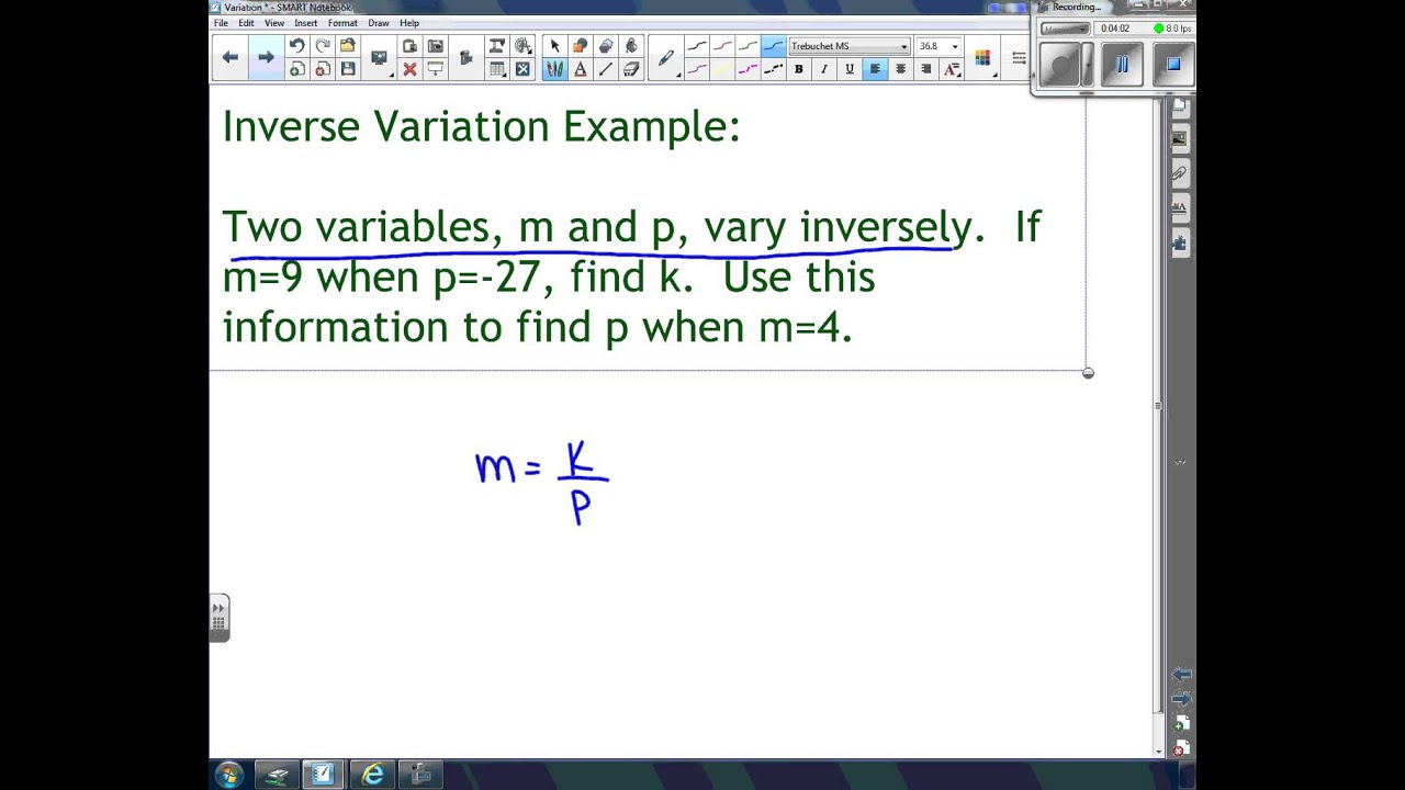 Direct Inverse And Joint Variation