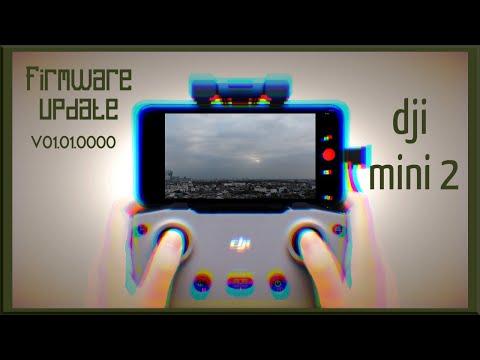 DJI Mini 2 //How To Update the Firmware On DJI Mini 2 //FLY MORE COMBO //4K