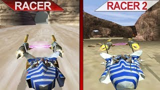 Comparison | Star Wars Episode I: Racer (PC) vs. Racer Revenge (PS2) - PCSX2