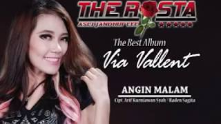 Video Via Vallen - Angin Malam (Official Music Video) - The Rosta - Aini Record download MP3, 3GP, MP4, WEBM, AVI, FLV September 2018