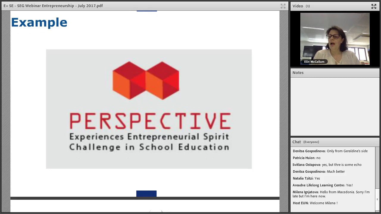 Webinar Series On Developing Your Entrepreneurship Education Project