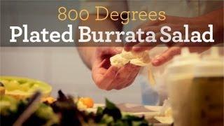 Plated Burrata Salad - Inside My Kitchen