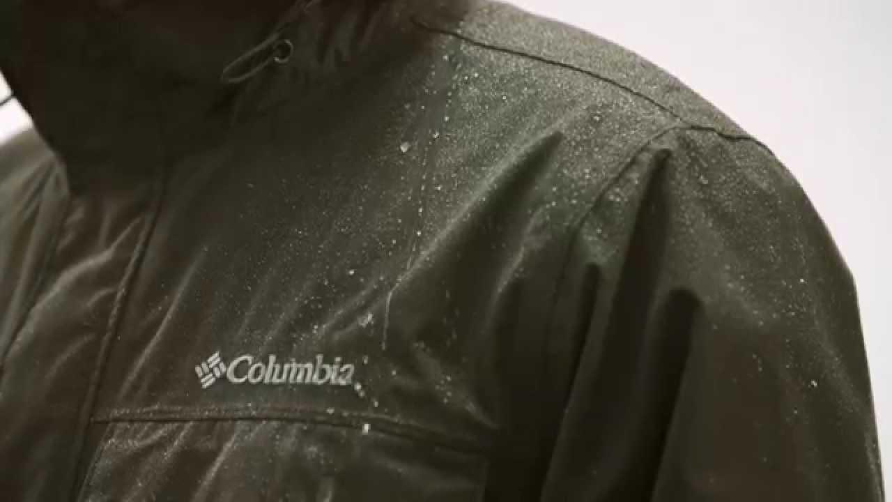 fd374dfe8 Men's Dr. Downpour™ Rain Jacket | Columbia Sportswear - YouTube