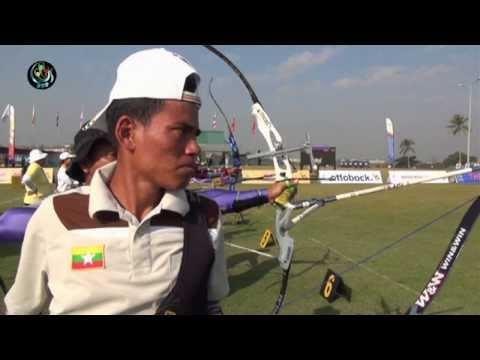 Burma's para-archers shoot to win