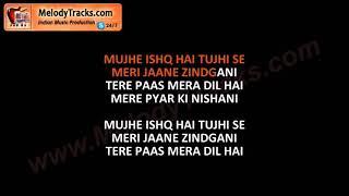 Mujhe Ishq Hai Tujhi Se | Karaoke | Mohammad Rafi | Ummeed