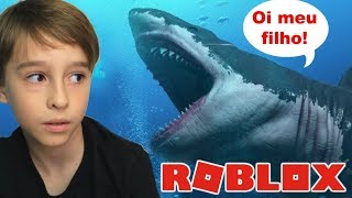 ROBLOX: MY MOTHER BECAME A SHARK | Family playing