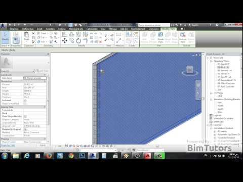 09- نمذجة بلاطات الاسقف للمنشأ