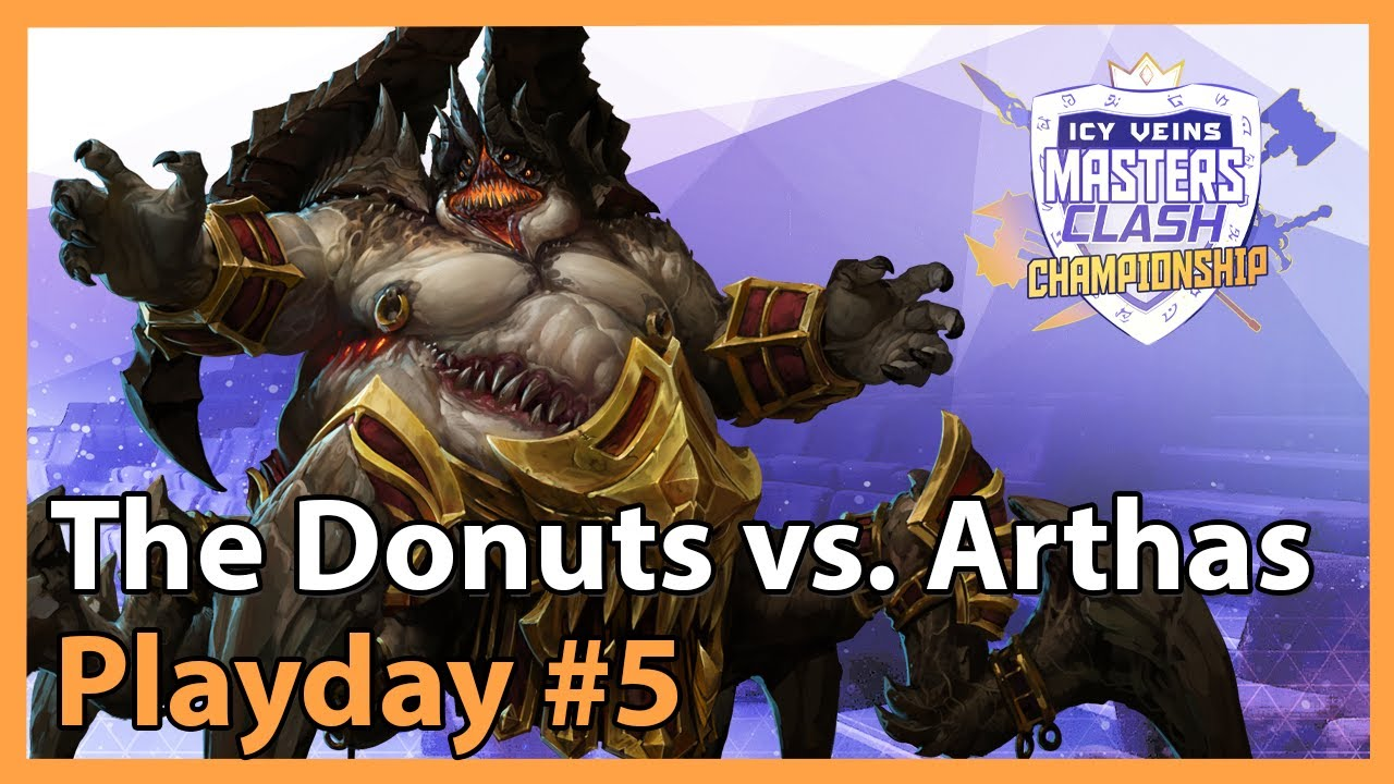 The Donuts vs. Arthas - MC - Heroes of the Storm Tournament