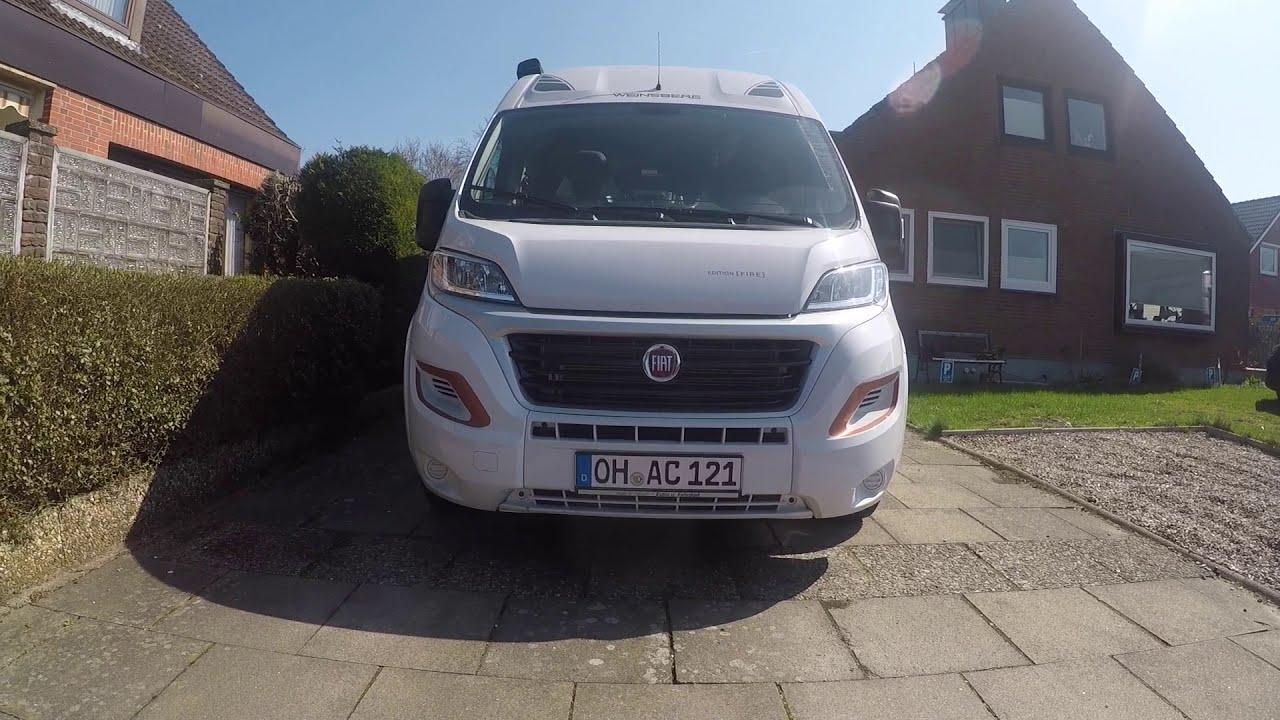 Etagenbett Wohnmobil : Weinsberg carabus k fire edition mit etagenbetten