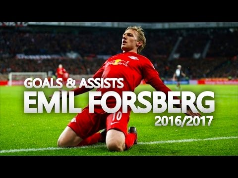 Emil Forsberg | Goals & Assists 2016/2017 | The Magician - RB Leipzig Superstar