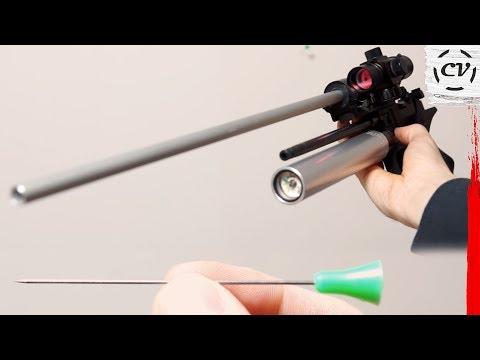 Air Pistol Mod For Shooting Blowgun Darts (Röhm Twinmaster Mod)
