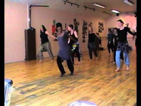 Mali dance with Awa Kouyate