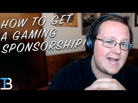 How To Get A Gaming Sponsorship