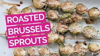 Balsamic-roasted Brussels Sprouts Recipe