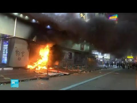 أعمال عنف وتخريب في هونغ كونغ  - نشر قبل 2 ساعة